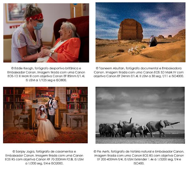 """""""See How We Feel"""": Canon capta o impacto emocional de 2020 em imagens"""
