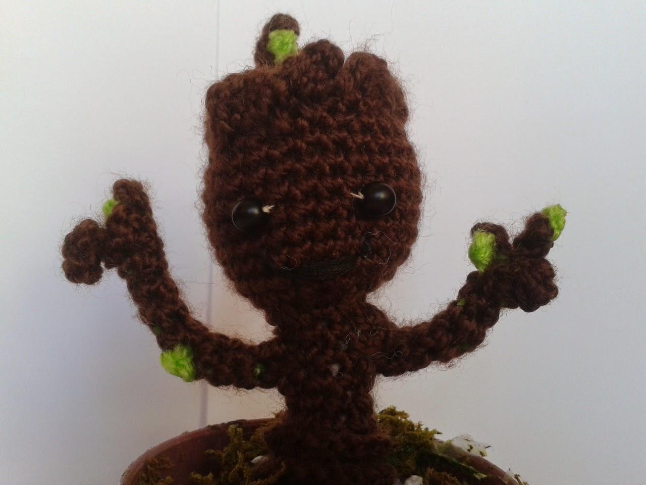 DIY PATTERN Baby Groot vol2 Amigurumi Crochet Pattern | Etsy | 960x1280