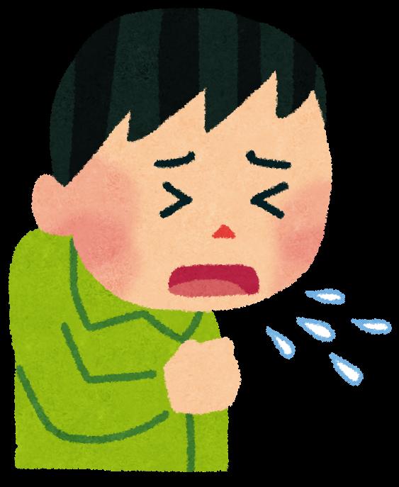 「咳 イラスト」の画像検索結果