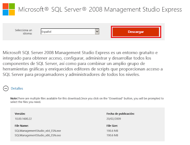 Microsoft® SQL Server® 2008 Management Studio Express