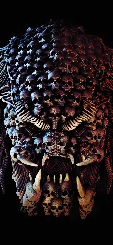 Skull Predator Mobile Wallpaper