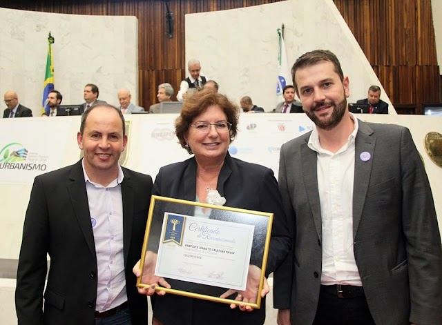 Colombo recebe premiação na 7ª edição do Prêmio Gestor Público Paraná