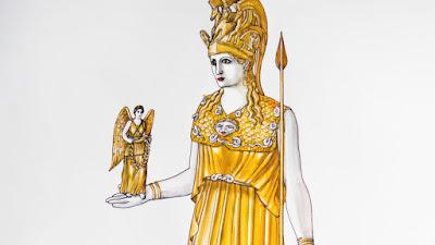 28η Οκτωβρίου στο Μουσείο Ακρόπολης:Το χαμένο άγαλμα της Αθηνάς Παρθένου