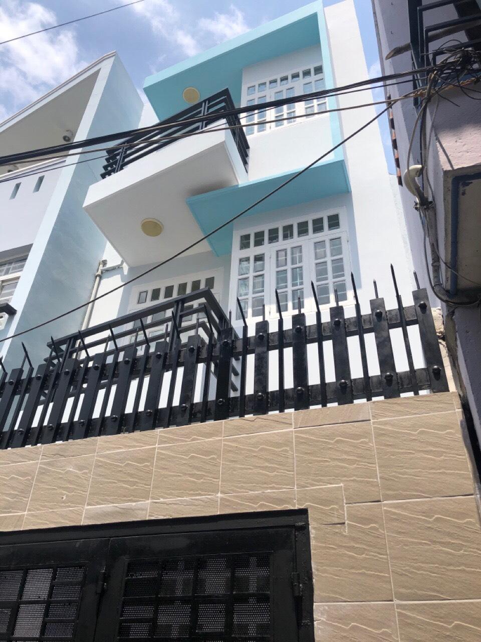 Bán nhà hẻm xe hơi 141 Tám Danh phường 4 Quận 8, gần chợ Phạm Thế Hiển