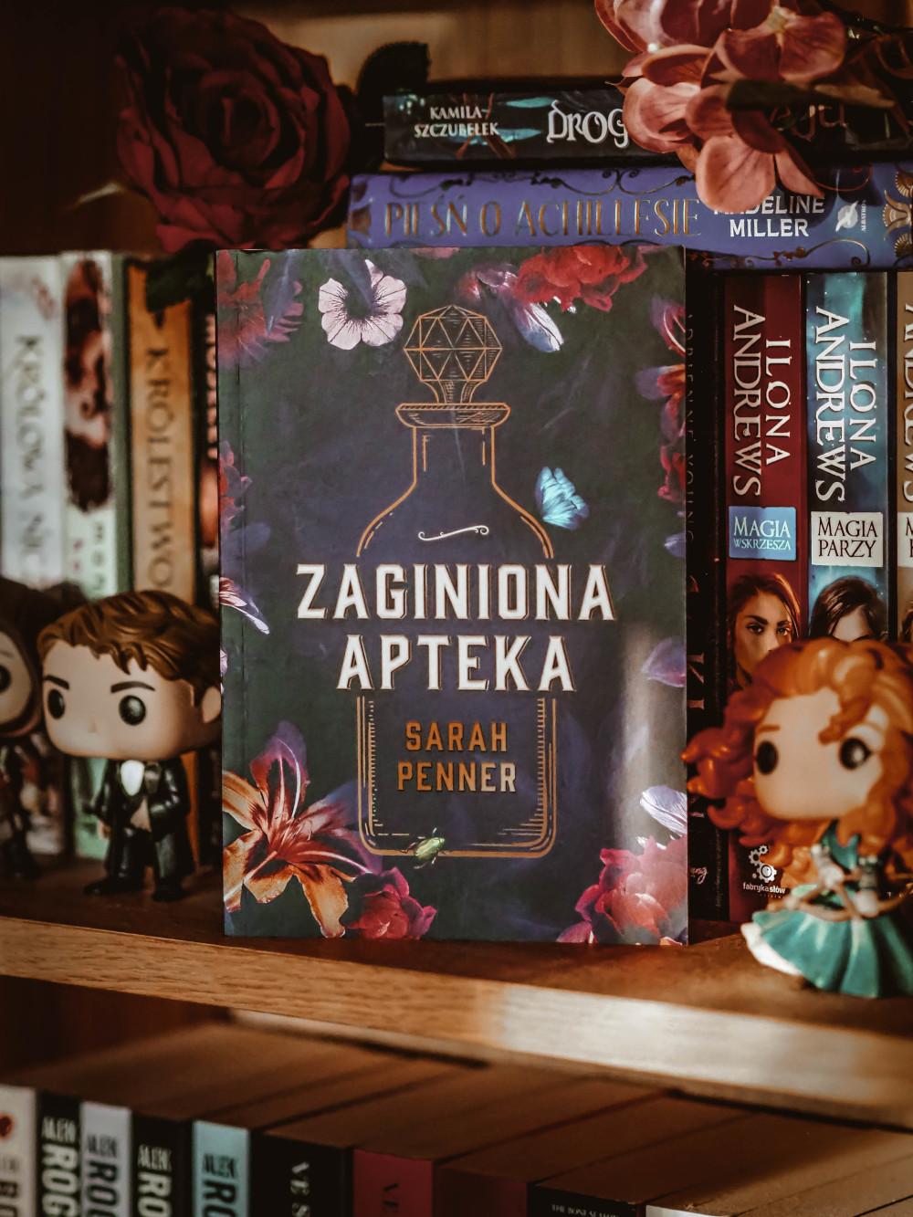 Zaginiona apteka - Sarah Penner. HarperCollins Polska