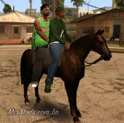 gta sa san andreas new horse mod cleo cavalo novo gang
