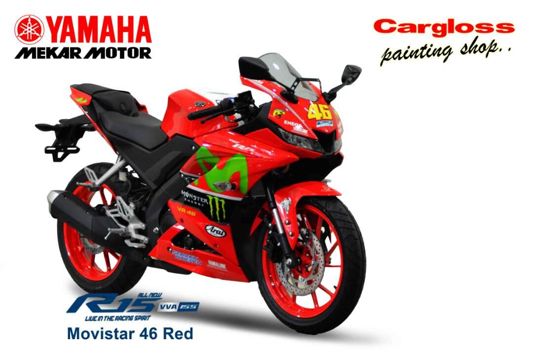 Yamaha R15 VVA Custom Modifikasi