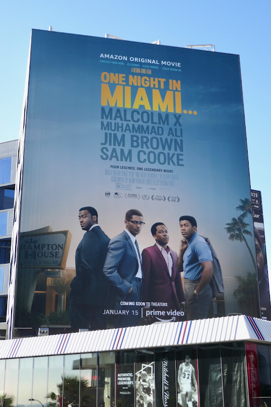 Giant One Night in Miami film billboard