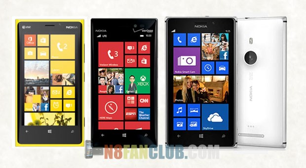 Picture Gallery: Nokia Lumia 920 vs. Nokia Lumia 925 vs. Nokia Lumia 928 - Design & Specs Comparison