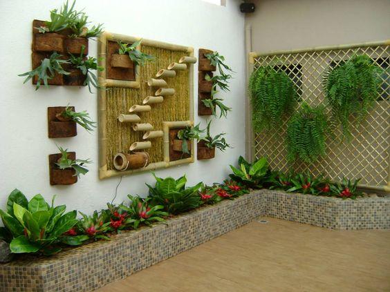 Ideas para decorar en jardines pequeños