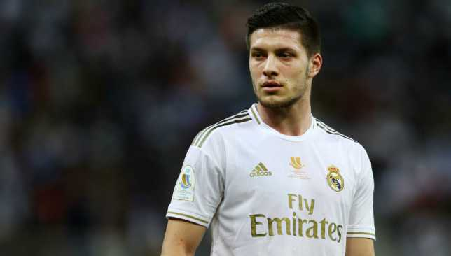 Serbian striker Luka Jović landed in Madrid on Monday, the Spanish newspaper As reported Monday.