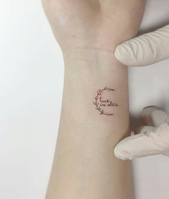 Simple Wrist Tattoos For Women