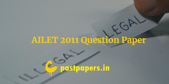 AILET 2011 Question Paper