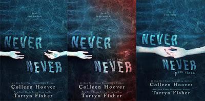 Resultado de imagen para Never Never de Colleen Hoover & Tarryn Fisher