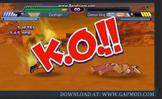 Gameplay Dragon Ball Total Majin Chaos