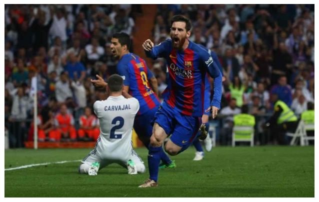 VIDEO: Real Madrid 2 – 3 Barcelona [La Liga] Highlights 2016/17 [Download Video]