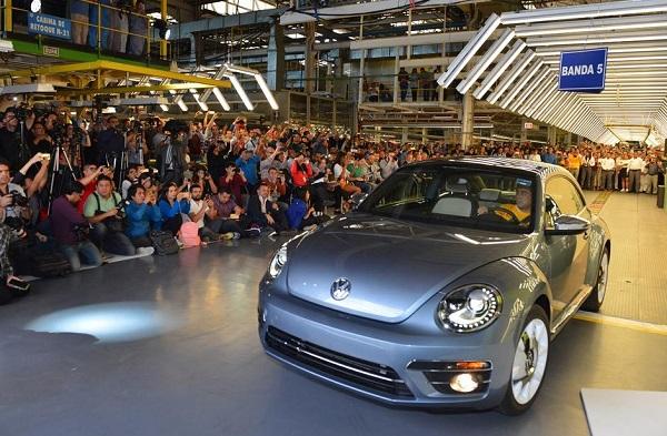 Volkswagen The Beetle deja de fabricarse