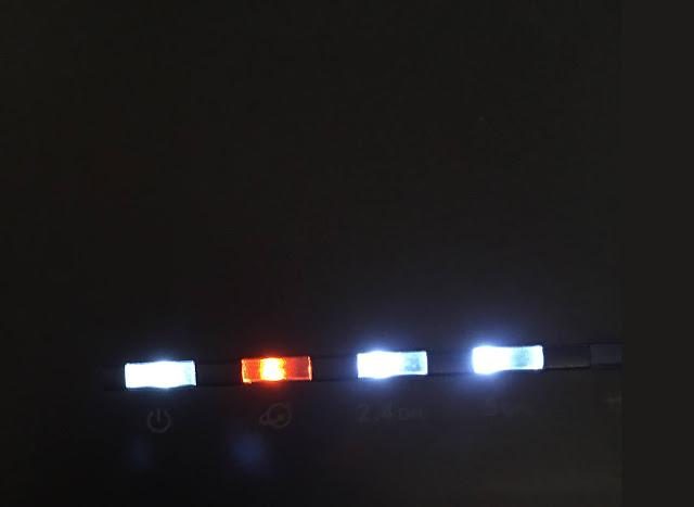 How do I fix the Orange Light on my Netgear Router?