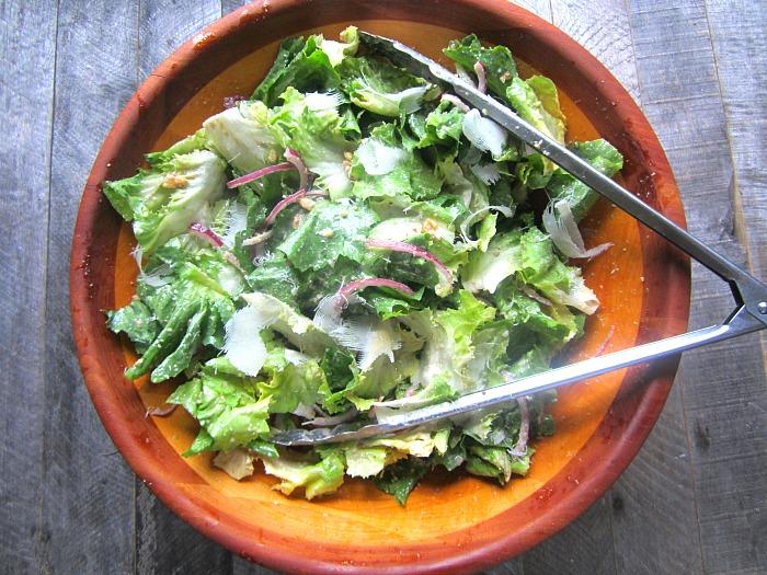 Frankies Spuntino S Escarole Salad