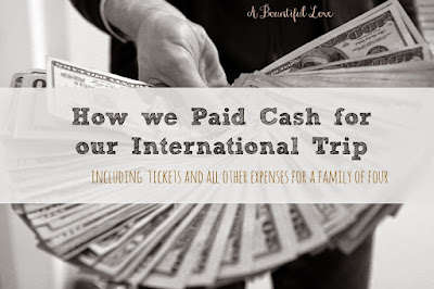 How to pay for your travel in cash