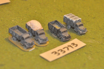 10mm WW2 / german - 4 trucks - vehicles (33793) picture 2