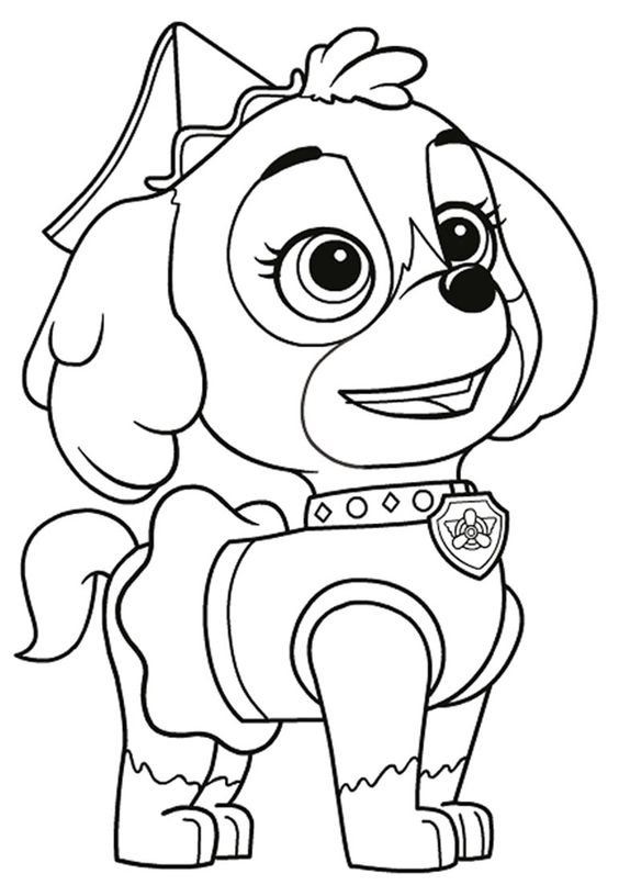 Dogs coloring pages 55