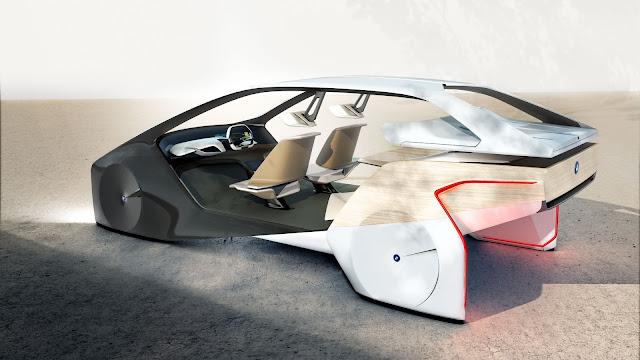 BMW chama o conceito de Inside Future, revelado na CES 2017