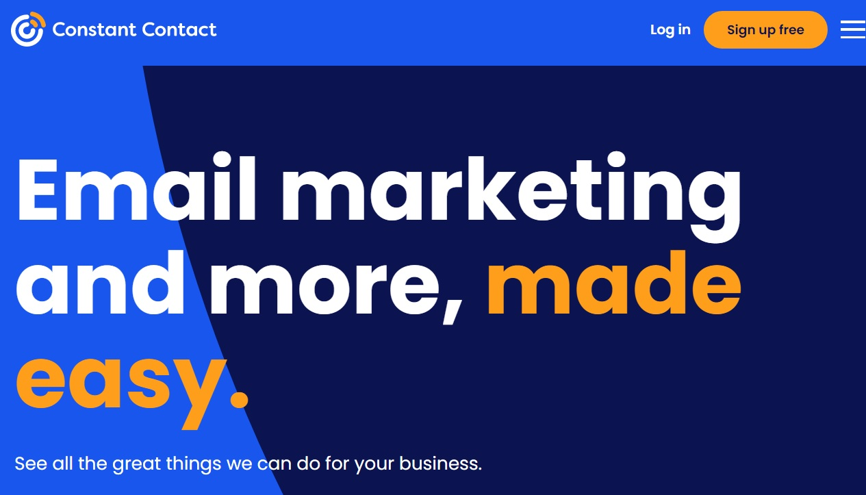 ConstantContact email marketing service