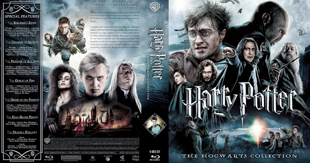 Capa Bluray Harry Potter The Hogwarts Collection