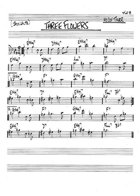 Partitura Bajo McCoy Tyner
