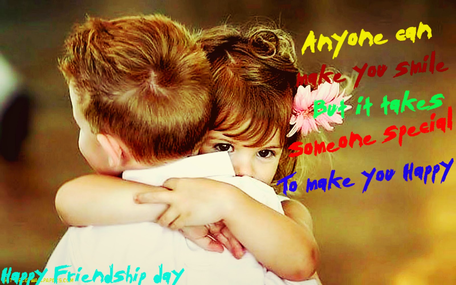 Happy Friendship Day 2014 Wallpapers free Download(1920x1080, 1440x1080)