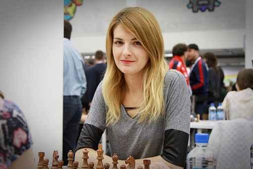 La championne de France d'échecs en titre Sophie Milliet - Photo © chess24.com/Georgios Souleidis