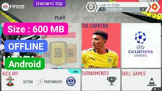 Jeu de Football - FIFA 20 MOD FIFA 14 Android 600 MB Meilleur graphique Nouveau menu Mise à jour