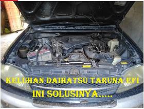 Keluhan Dan Permasalahan serta solusi Mobil Daihatsu Taruna Efi