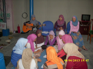 peserta Kursus kolektif di VOC kampung inggris pare kediri