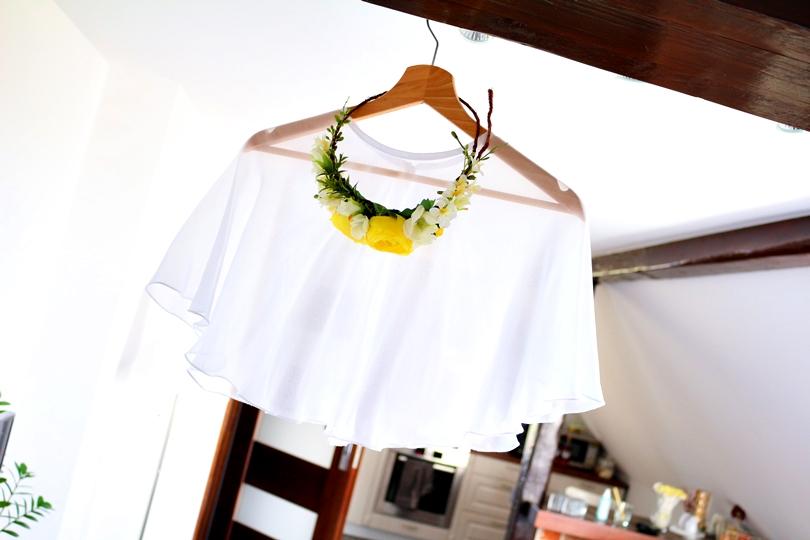 narzutka do sukni ślubnej, pelerynka ślubna, sukienka na poprawiny, szara sukienka z koronka, koronkowa sukienka, tiulowa sukienka, ślub, wianek do ślubu, wianek czy welon, fryzury ślubne, poznań,