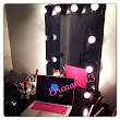 DIY Lighted Makeup Mirror (Broadway style) Vanity