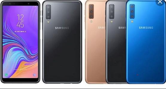 هاتف جديد من سامسونج بثلاثة كاميرات خلفية