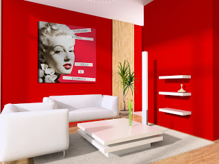 diseño sala vintage