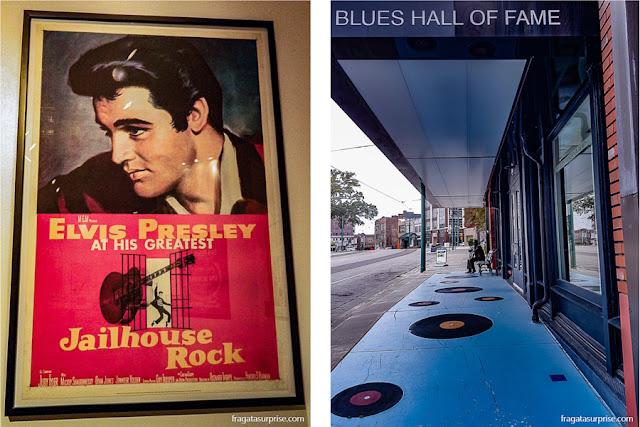 Elvis Presley e o Blues, as duas grandes atrações de Memphis