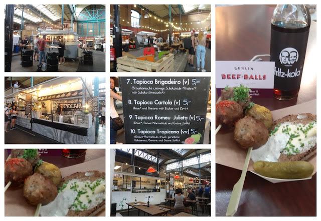 Onde comer e se divertir em Berlim -  Markthalle Neun