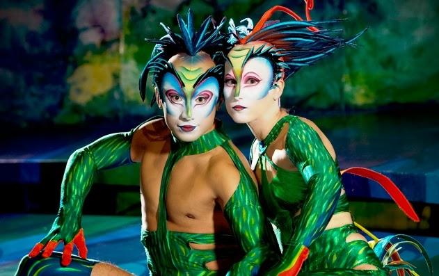 Show Mystere Cirque Soleil