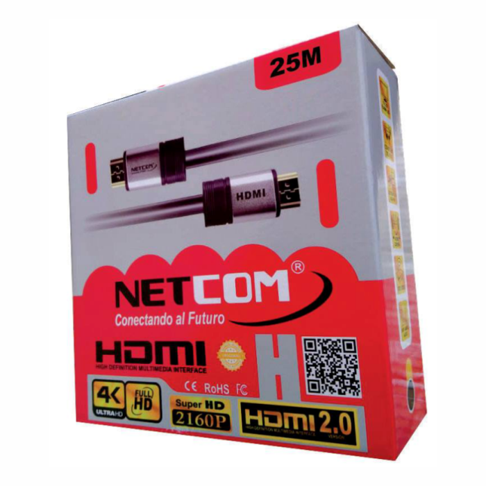Cable HDMI Ultra HD 4K – 25M