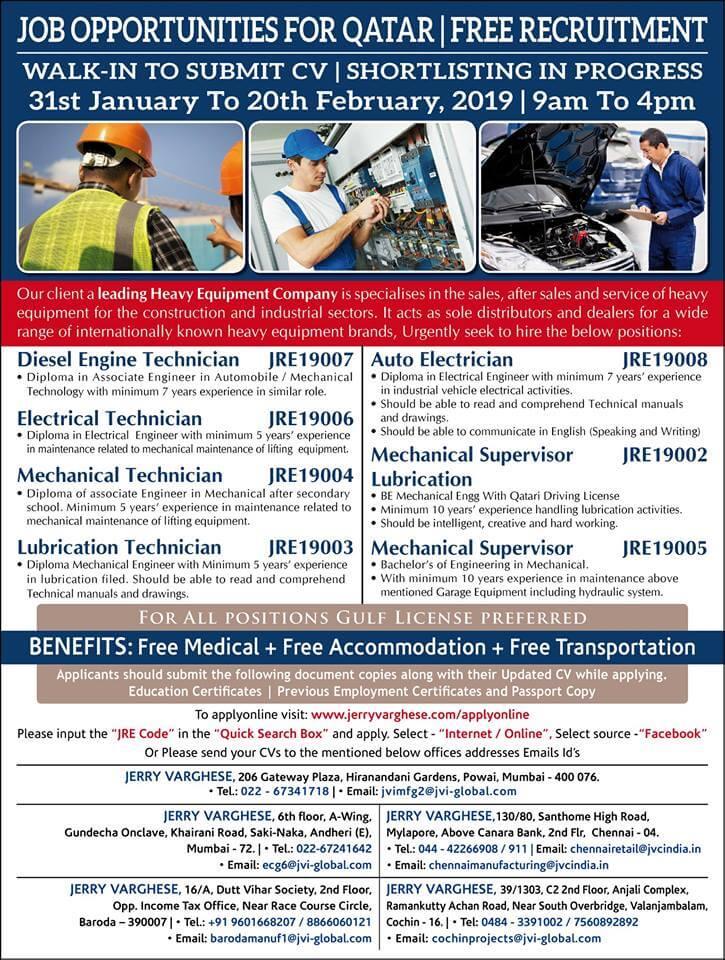 January 2019 - ENGINEERING JOBS