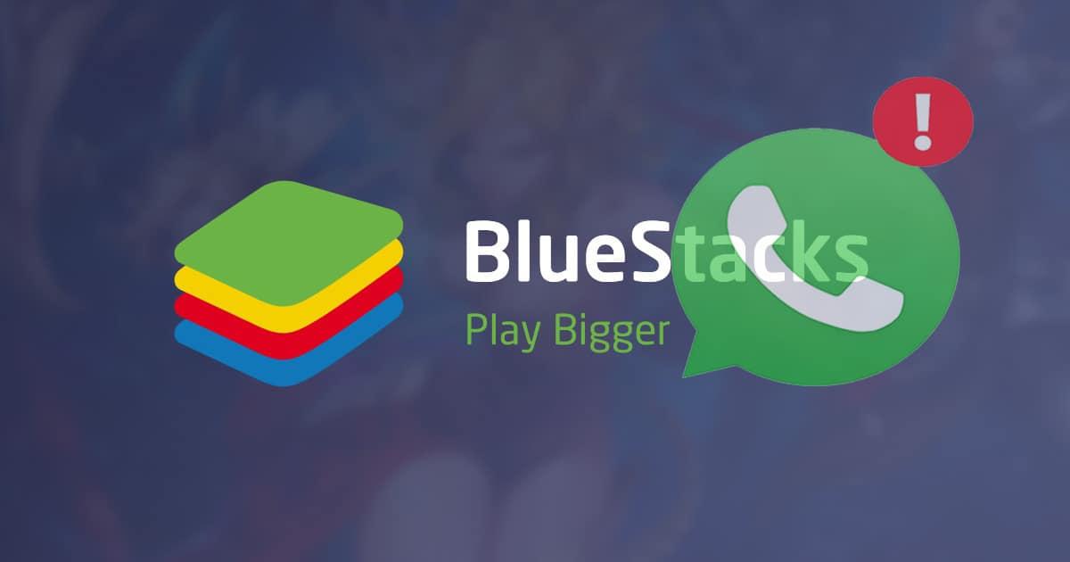 menggunakan whatsapp dengan bluestack