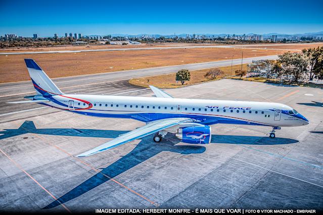 Air Peace recebe a primeira aeronave Embraer (EMBR3) E2 do continente africano | É MAIS QUE VOAR