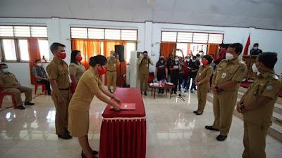Serahkan SK CPNS di Sangihe, Wagub Kandouw Harap Guru Ciptakan SDM yang Hebat
