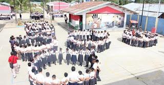 Simulacro de sismo en  Instituciones Educativas en Ayacucho