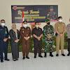 Pangdam XIV/Hsn. Mayjen TNI Mochamad Syafei Kasno, S.H. beserta Ketua Persit KCK PD XIV/Hsn. Ibu Yuani Noor Indah