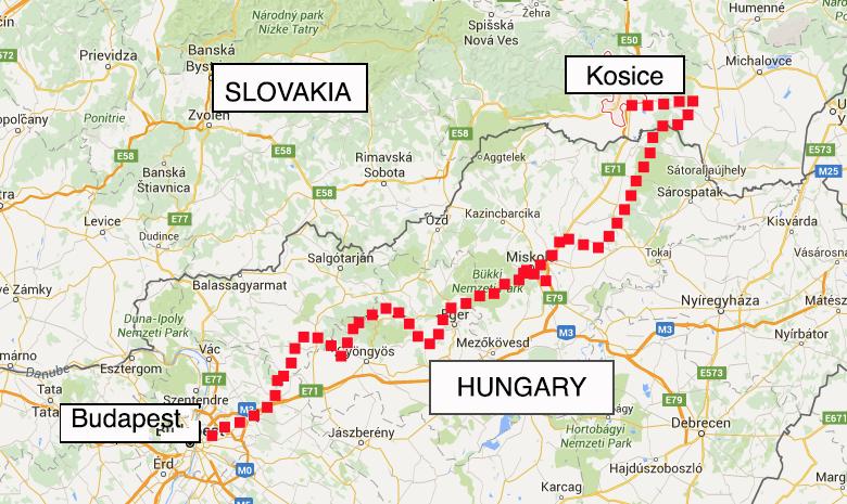 Romanian immigration, suicidal hungarian drivers and slovakia